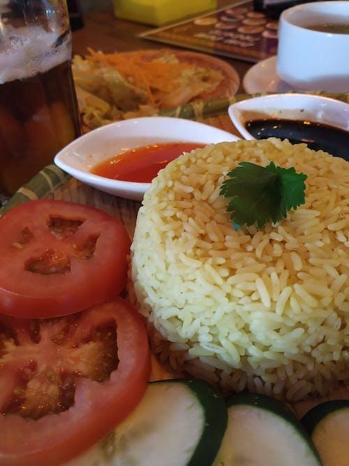 Δωρεάν στοκ φωτογραφιών με πιάτο ρύζι