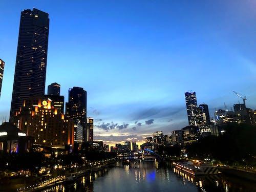 Free stock photo of city, city lights, citylife, night city