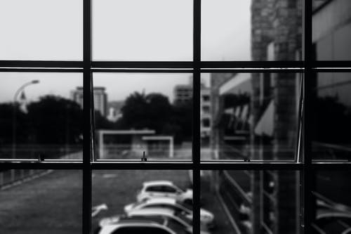 Imagine de stoc gratuită din alb-negru, fereastră, pahar