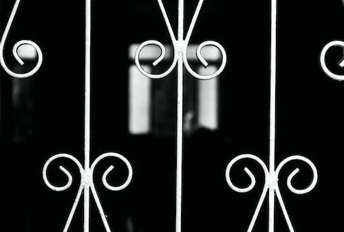 Foto stok gratis Desain, hitam & putih, pola