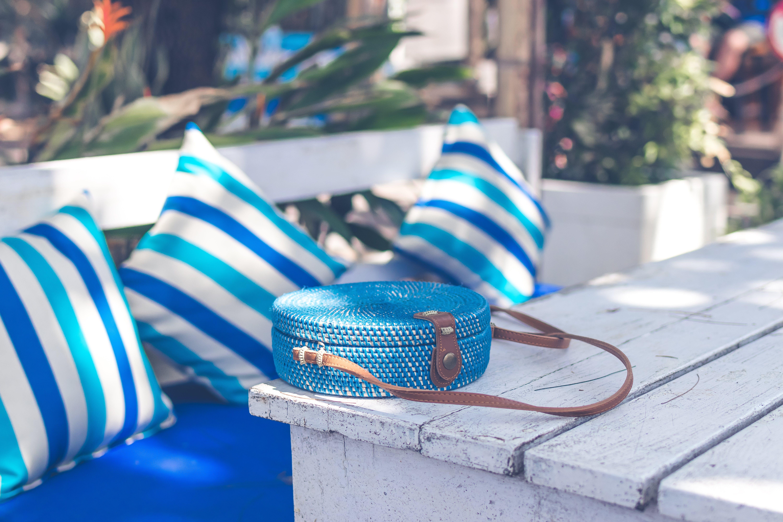 가방, 등나무, 블루, 액세서리의 무료 스톡 사진