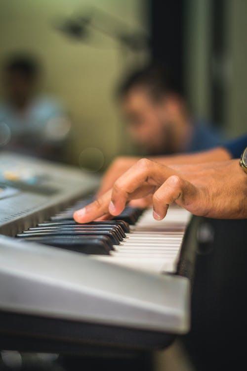 Ảnh lưu trữ miễn phí về bàn phím, chìa khóa, đàn piano, ghi âm