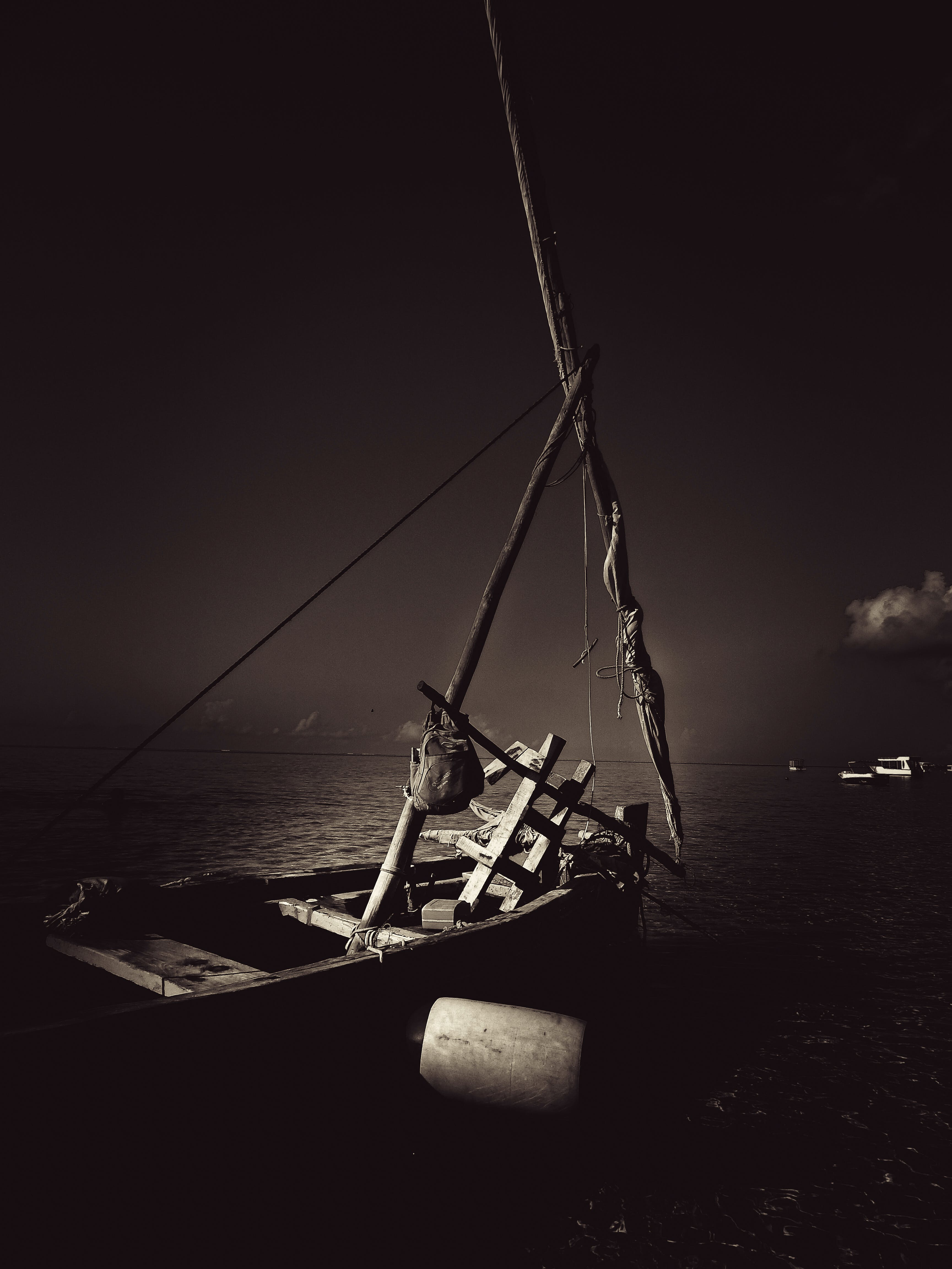 Základová fotografie zdarma na téma černobílá, severní pobřeží keni