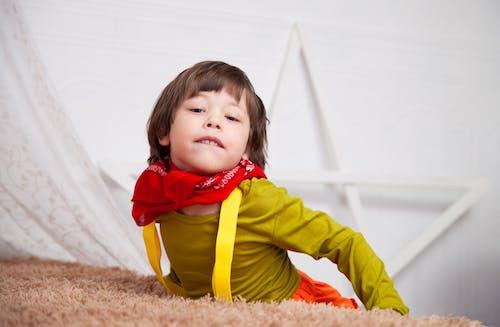 Foto stok gratis anak, cute, kecil, keluguan