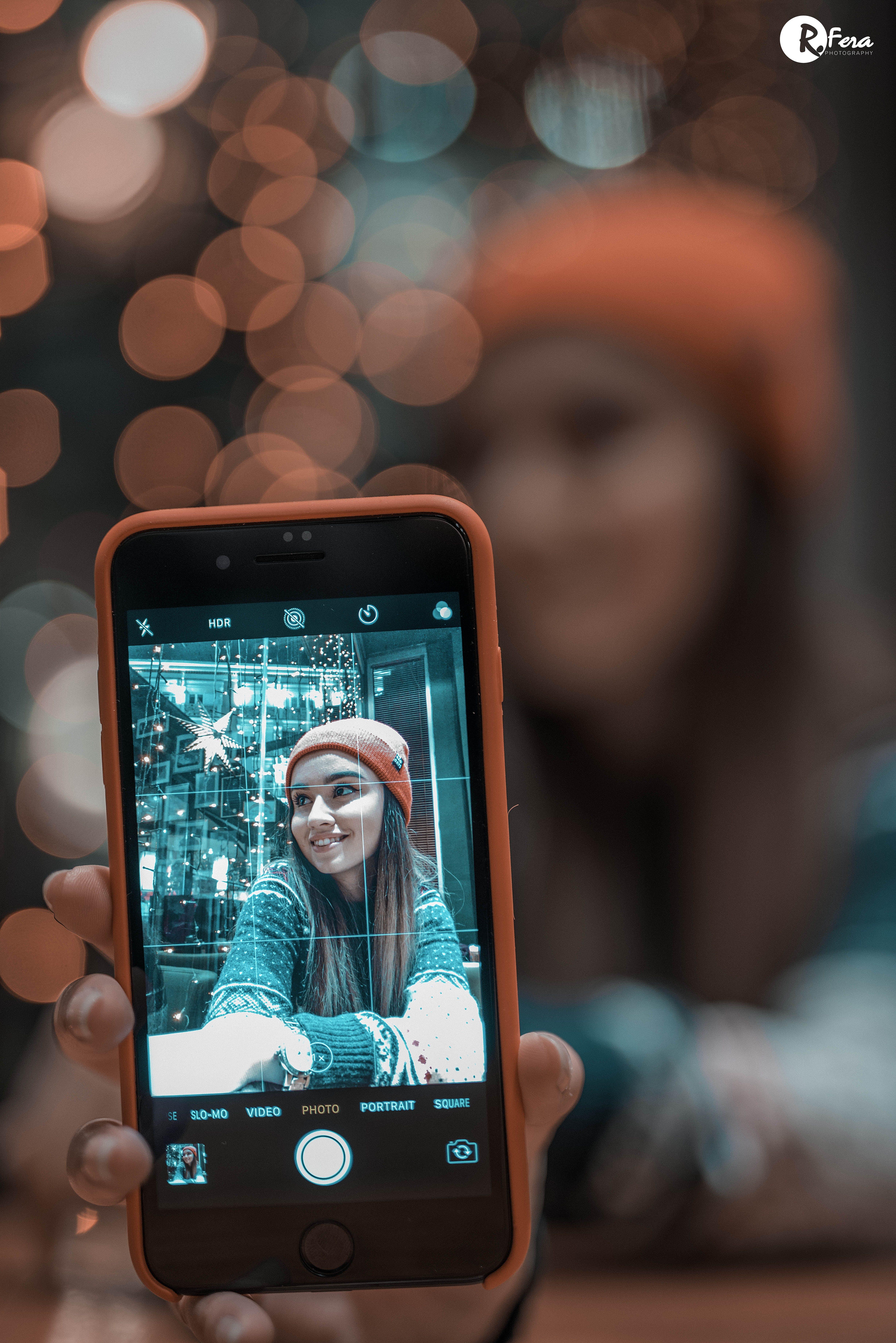 Бесплатное стоковое фото с iphone, боке, год, красный
