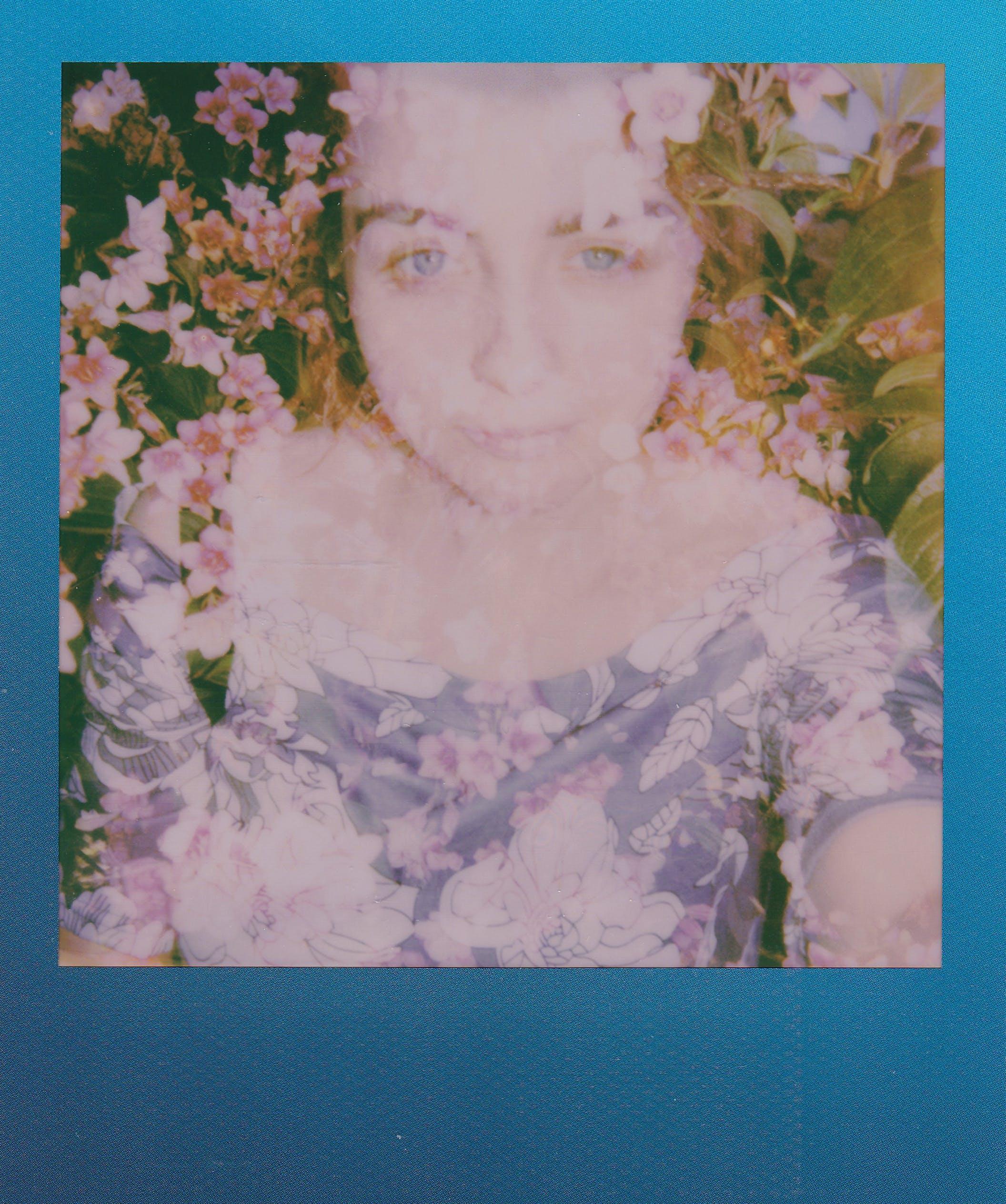 aşındırmak, bağbozumu, Çiçekler, çift pozlama içeren Ücretsiz stok fotoğraf