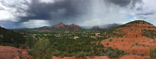 アリゾナ, セドナ, 砂漠, 雨の無料の写真素材
