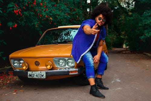 Gratis stockfoto met afro haar, auto, automobiel, automotive