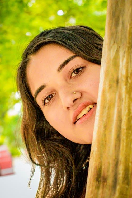 Fotos de stock gratuitas de bonito, chica asiática, encantador, katmandú, nepal