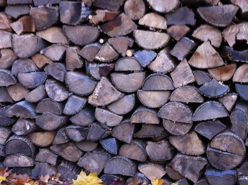 Free stock photo of wood pile