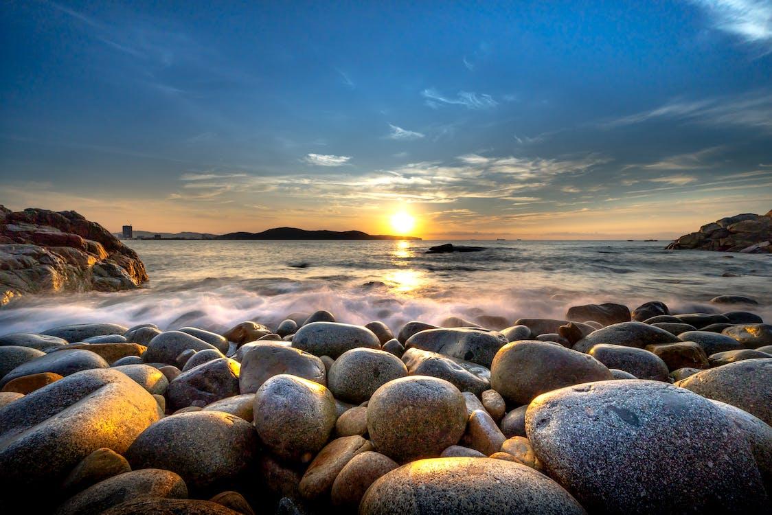Rocky Beach during Sunrise