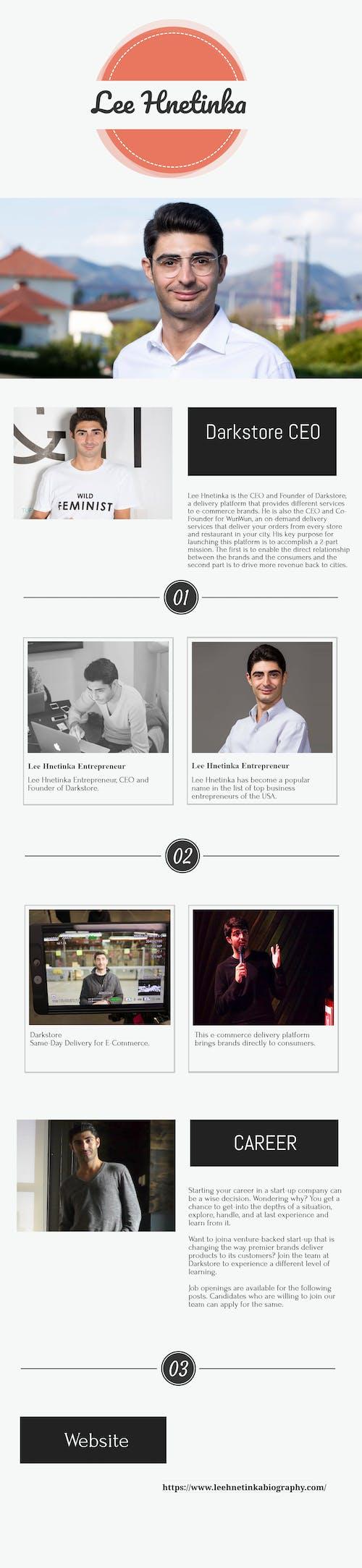 Free stock photo of entrepreneur, Lee Hnetinka