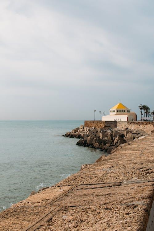 คลังภาพถ่ายฟรี ของ ความรัก, ทะเล, สีเหลือง, สุขสันต์วันหยุด