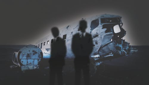 Free stock photo of air crash, ghosts, haunted, plane crash