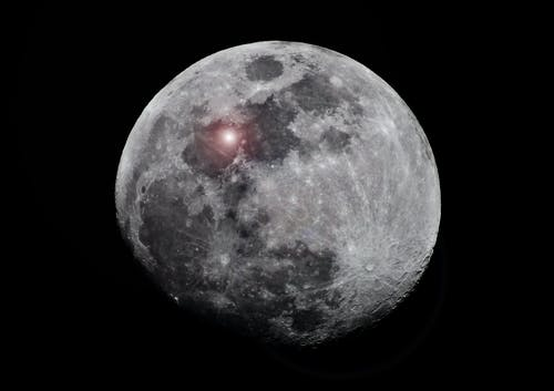 Free stock photo of anomalous lunar lights, lunar lights, moon
