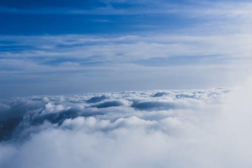 戲劇性的天空, 藍天 的 免費圖庫相片