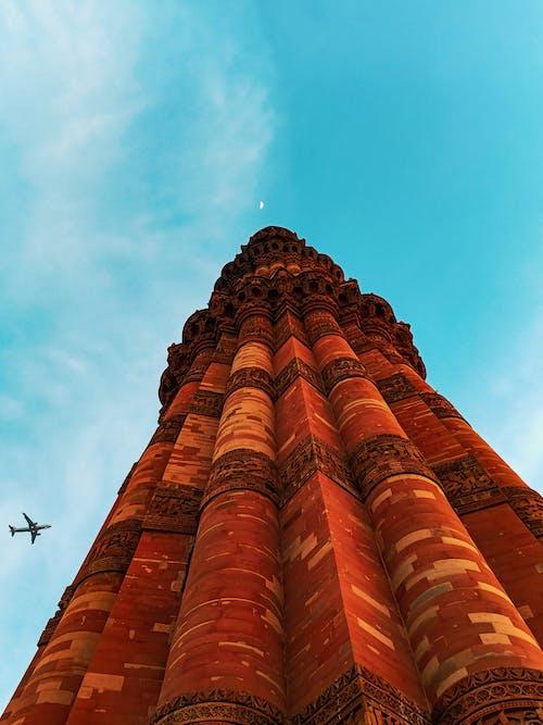 亞洲建築, 伊斯兰建筑, 低角度拍攝, 低角度攝影 的 免费素材照片