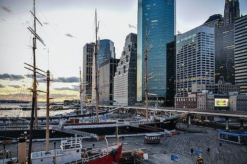 Manhattan içeren Ücretsiz stok fotoğraf