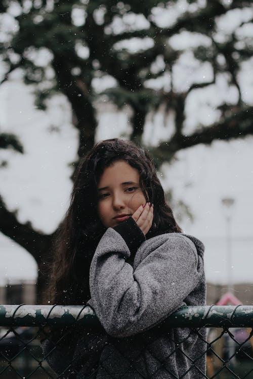 ao ar livre, atraente, bonita