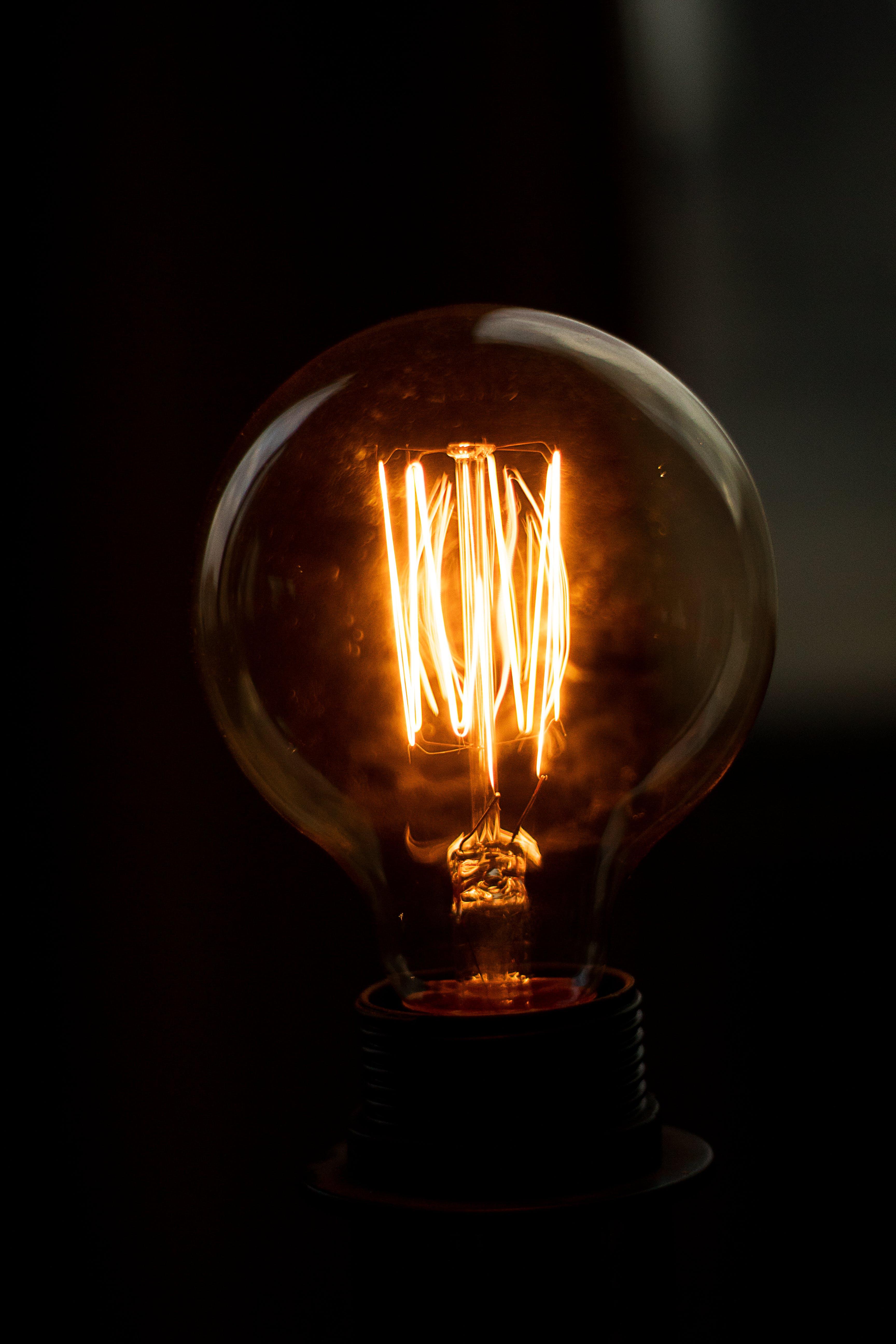Gratis lagerfoto af belyst, brændt, close-up, elektricitet