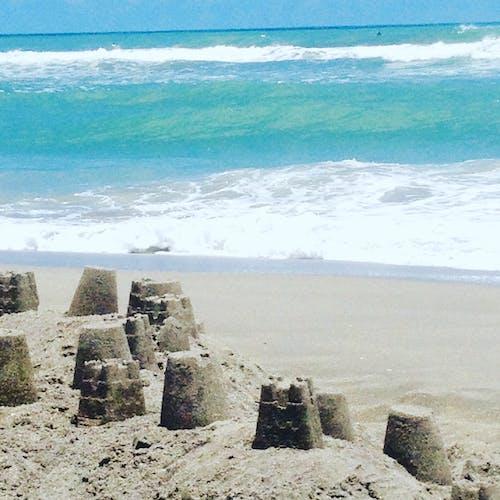 海洋, 海灘 的 免费素材照片