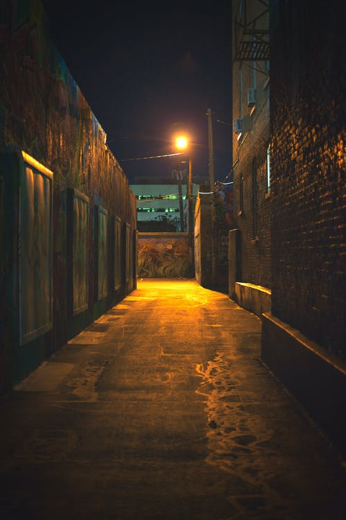 Free stock photo of alley, alley way, moody
