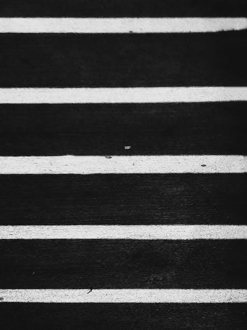 Fotobanka sbezplatnými fotkami na tému biela, čiary, čierna, detailný záber