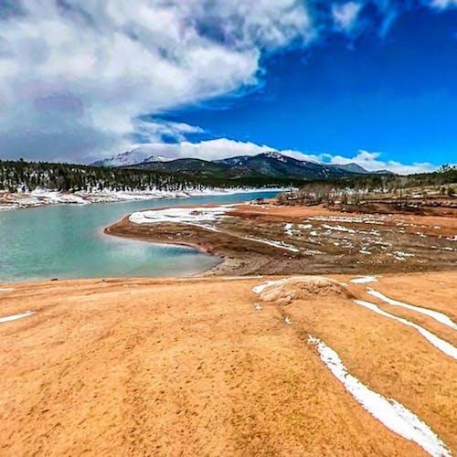 강, 뾰족한 봉우리, 콜로라도의 무료 스톡 사진