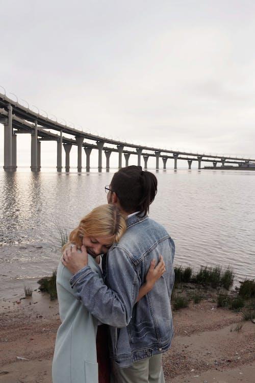 Photos gratuites de amour, bord de mer, couple, espace extérieur