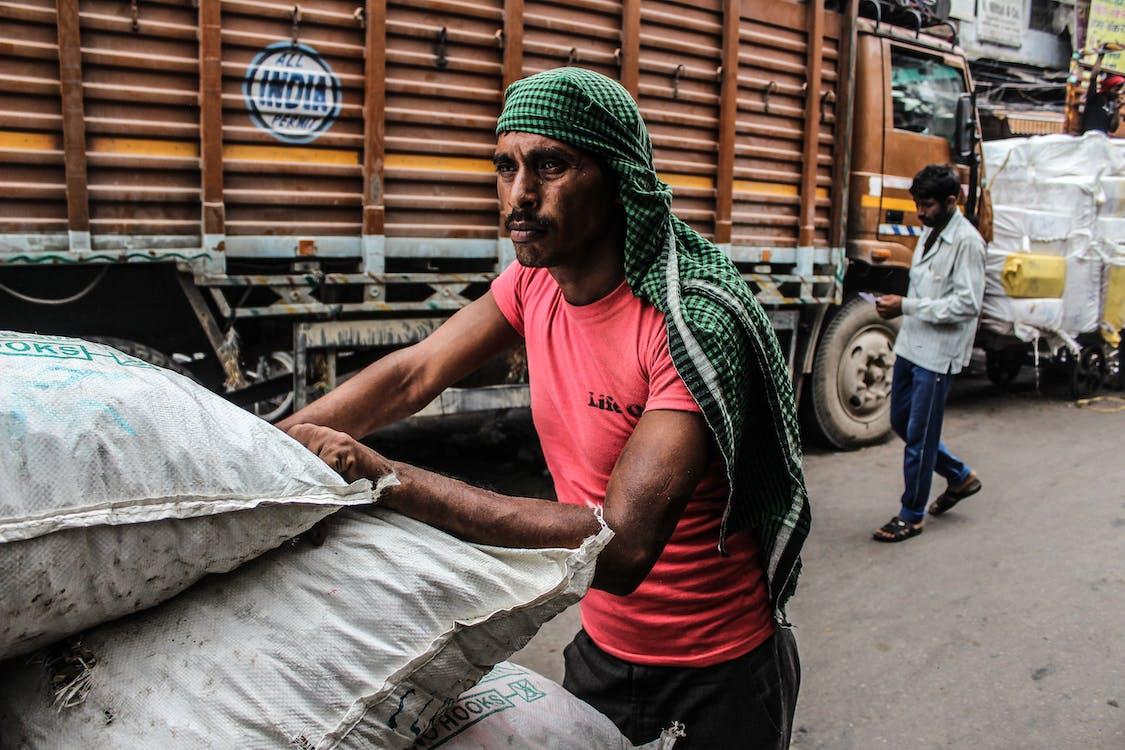 indian men working