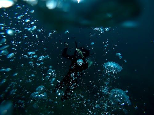 Δωρεάν στοκ φωτογραφιών με snorkeling, αναψυχή, αυτοδύτης, βαθύς