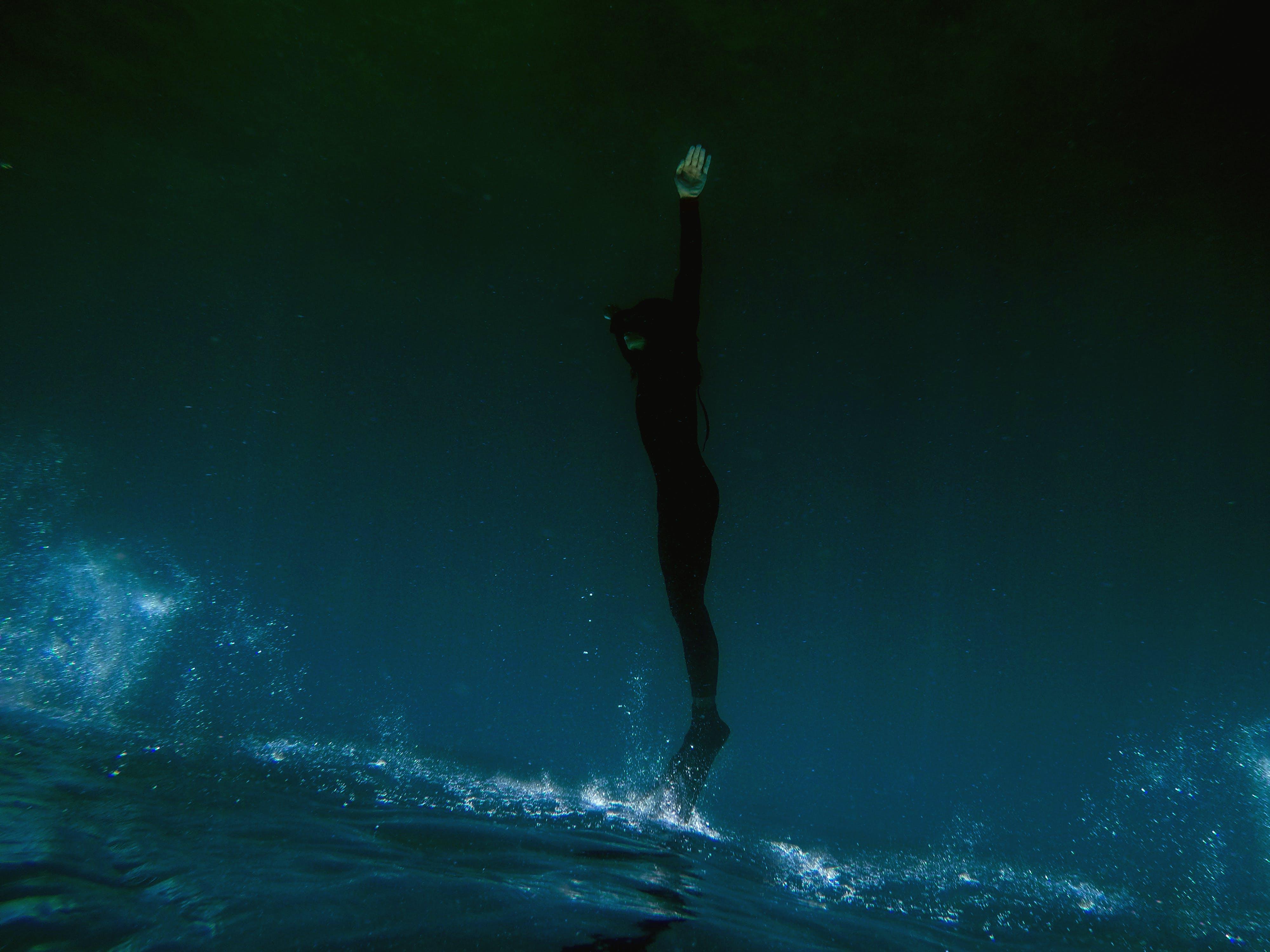Foto d'estoc gratuïta de acció, aigua, aventura, blau