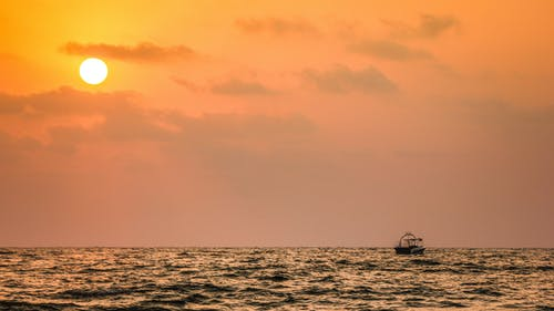 Fotobanka sbezplatnými fotkami na tému goa, India, sunset beach, západ slnka