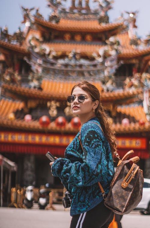 女人, 宗教, 寺廟, 文化 的 免费素材照片