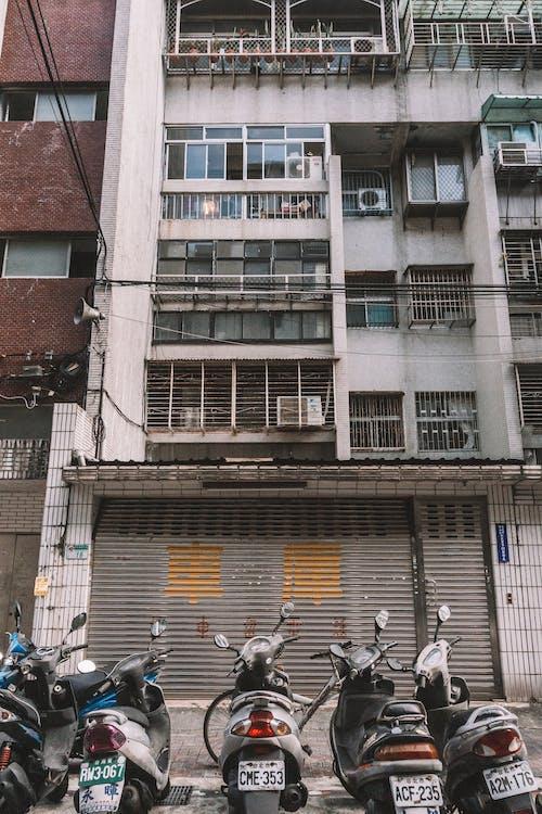 交通系統, 停, 公寓, 商業 的 免费素材照片