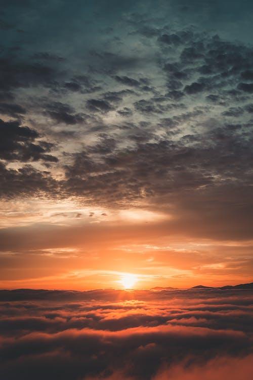 天性, 寧靜, 日落, 自然攝影 的 免費圖庫相片