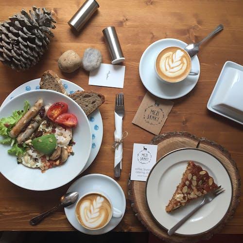 건강, 나무, 뜨거운, 라떼 아트의 무료 스톡 사진