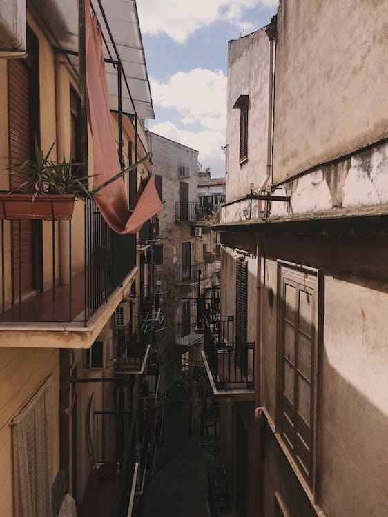 balkon, inspirasi, jendela