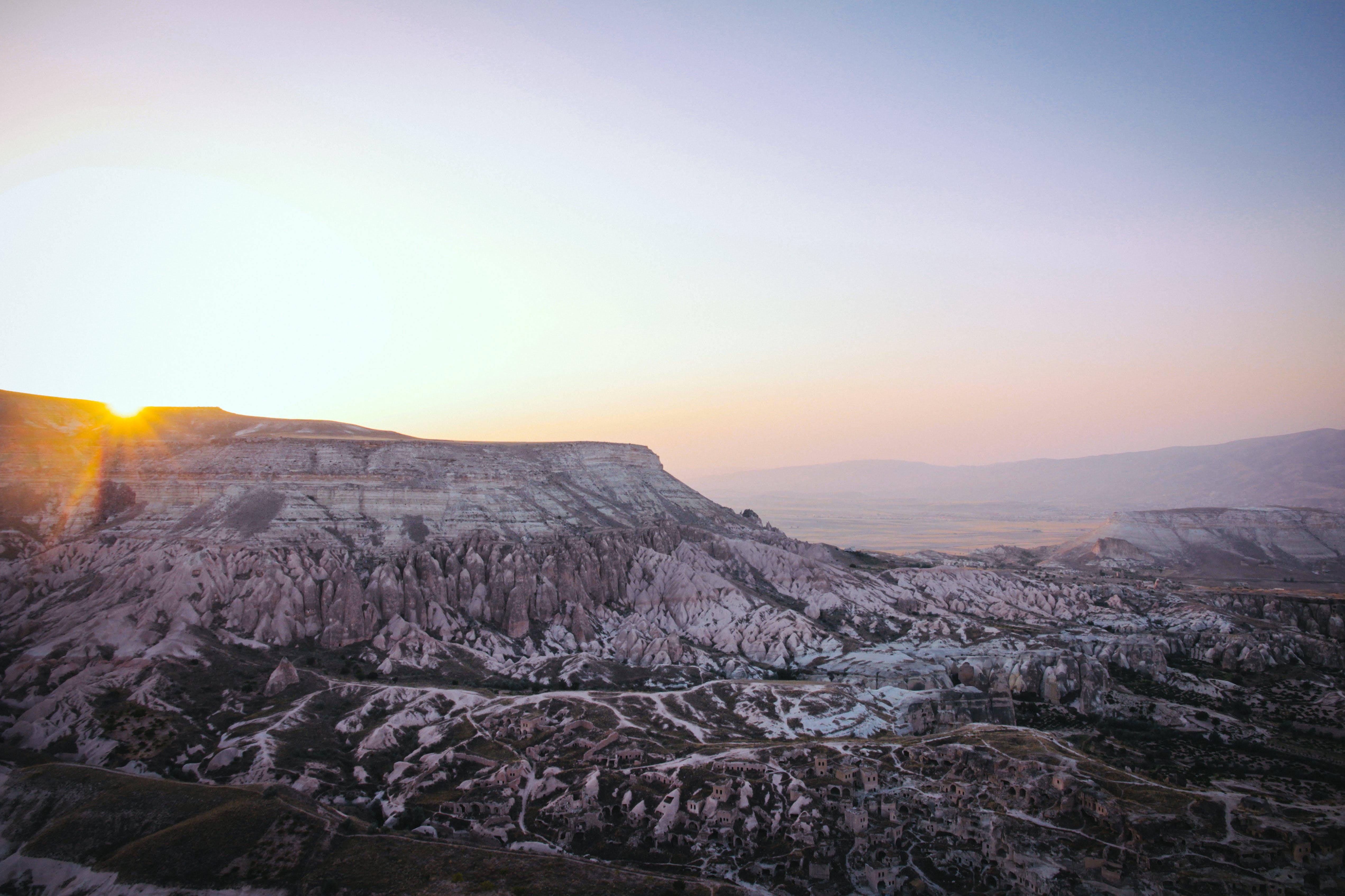 Základová fotografie zdarma na téma cestování, denní světlo, fotka zvysokého úhlu, hora