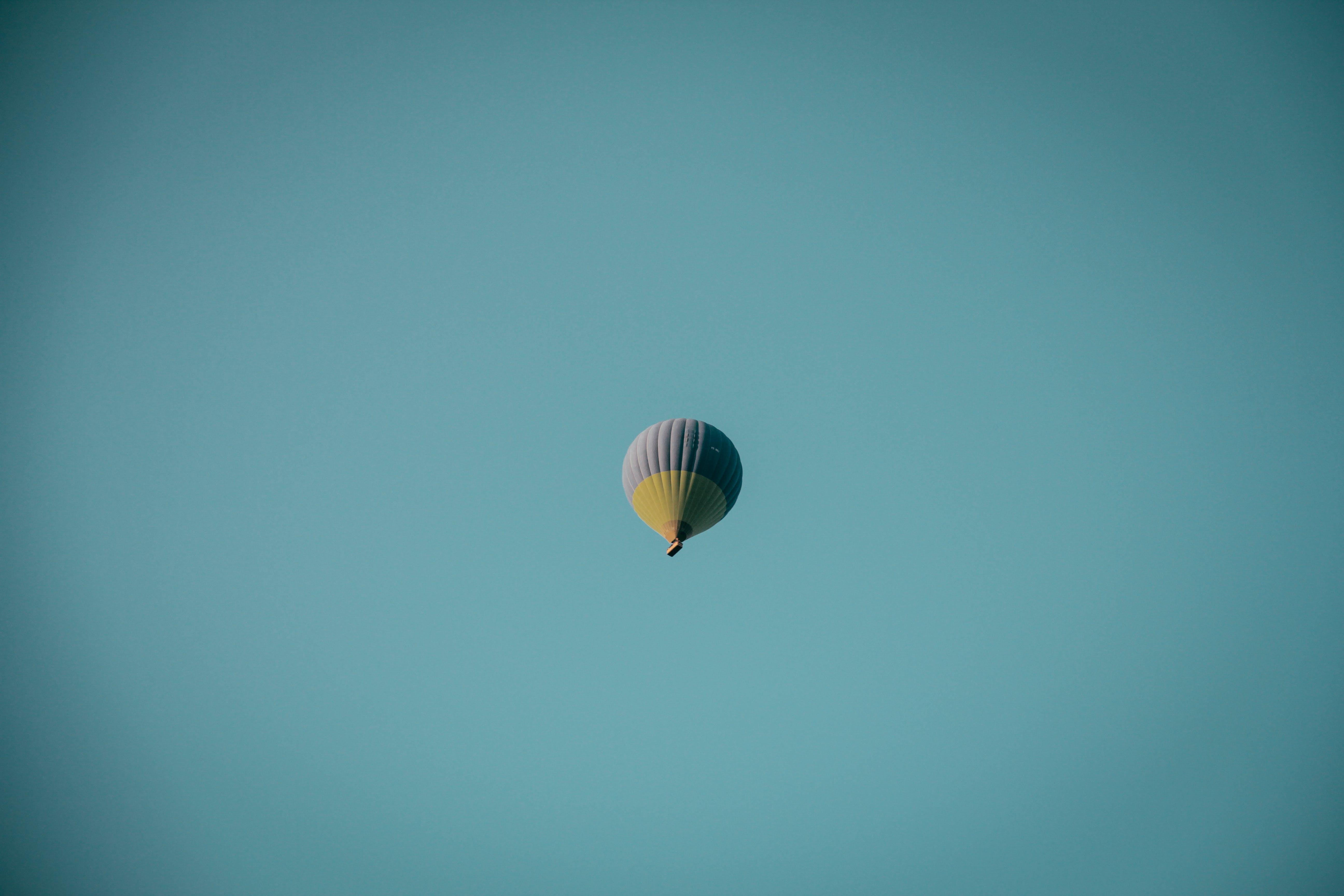 คลังภาพถ่ายฟรี ของ การบิน, ท้องฟ้า, บอลลูน, เที่ยวบิน