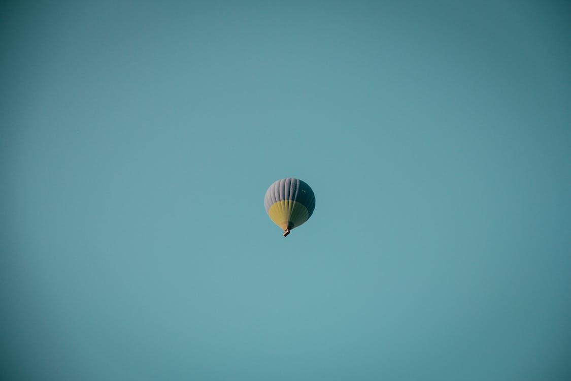 ballong, flyg, flygande