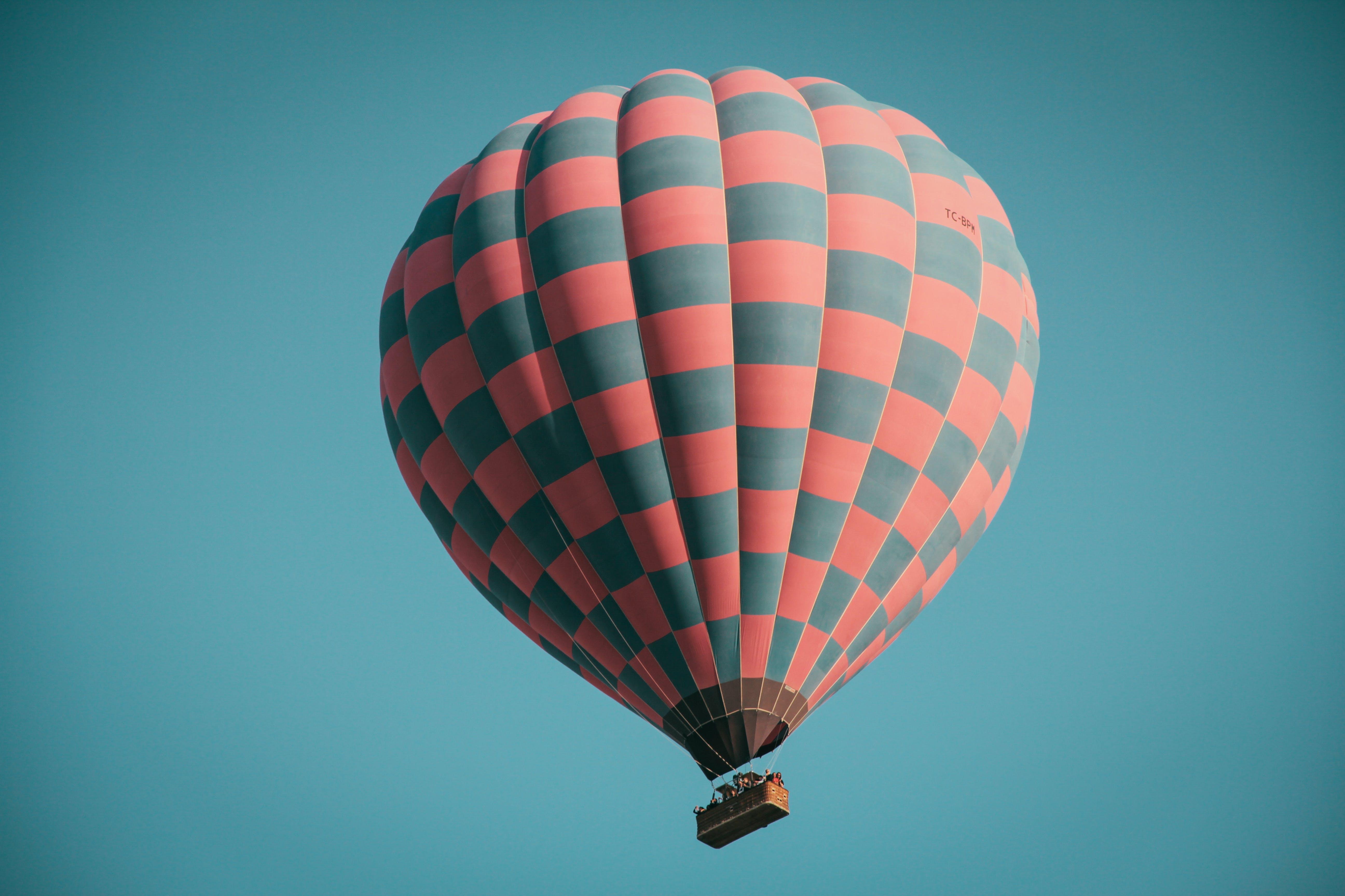 Low Angle Photo of Hot Air Balloon