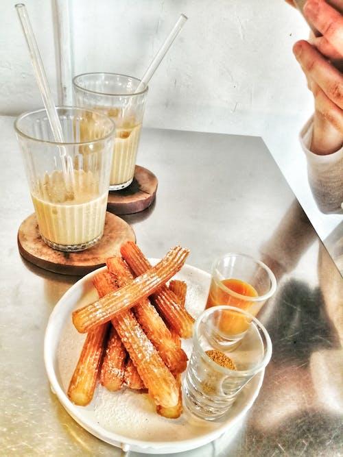 Free stock photo of bar cafe, churros, coffee