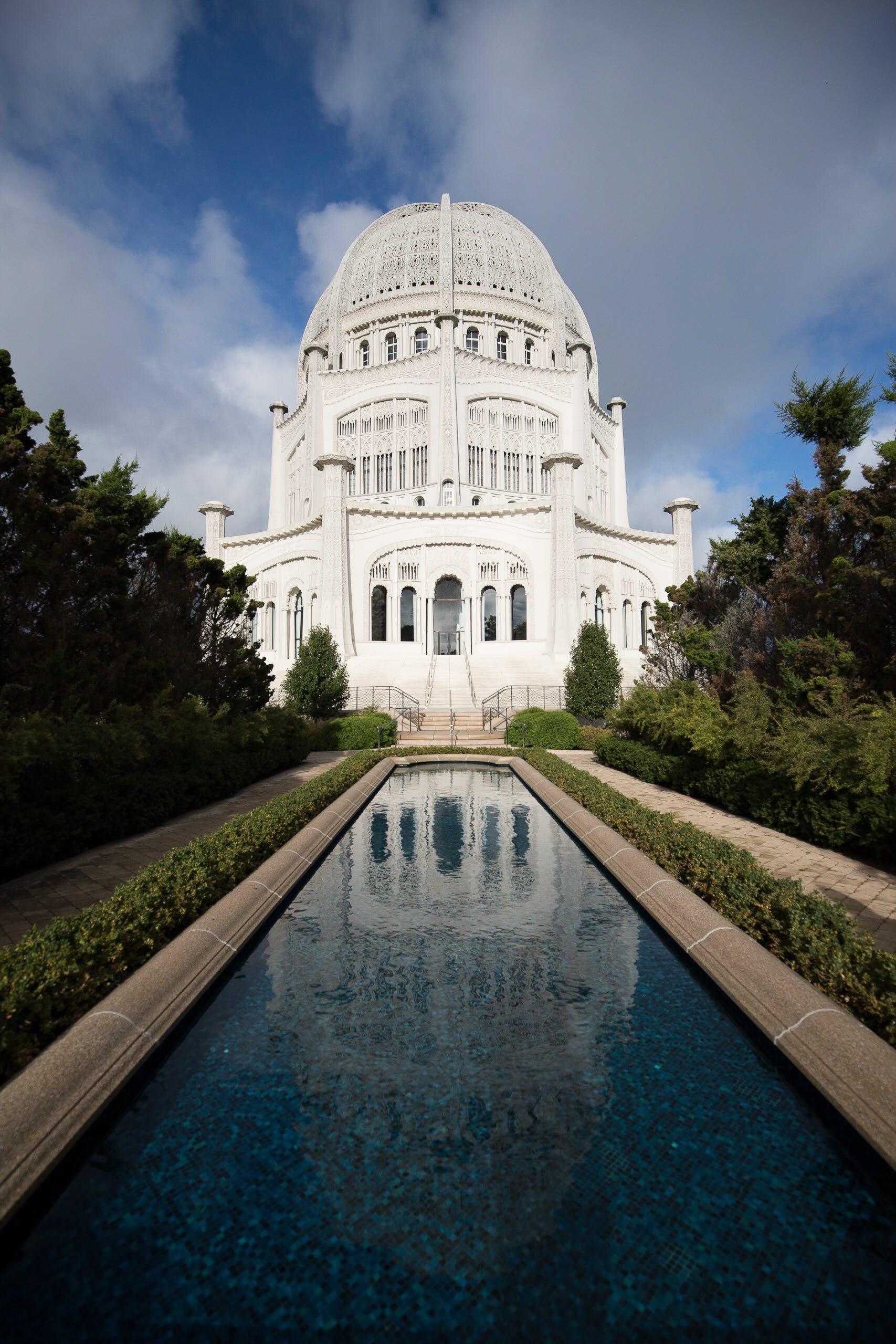 Gratis lagerfoto af arkitektur, bygning, kuppel, refleksion