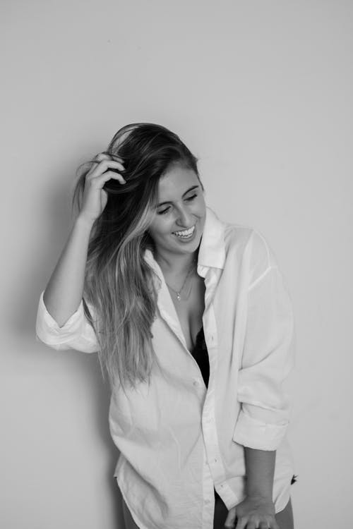Základová fotografie zdarma na téma atraktivní, černobílá, černobílý, hezký