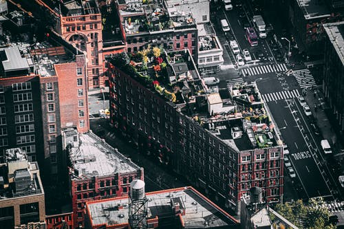 Gratis stockfoto met amerika, architectuur, bird's eye view, downtown