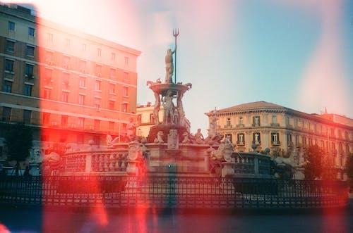 Darmowe zdjęcie z galerii z architektura, fontanna, miasto, miejski