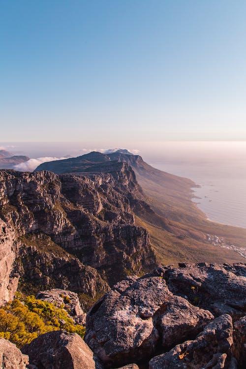 High Angle Shot of Mountain