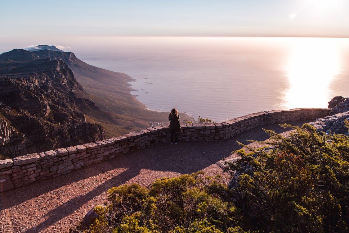 afrika, anlegg, bord fjell