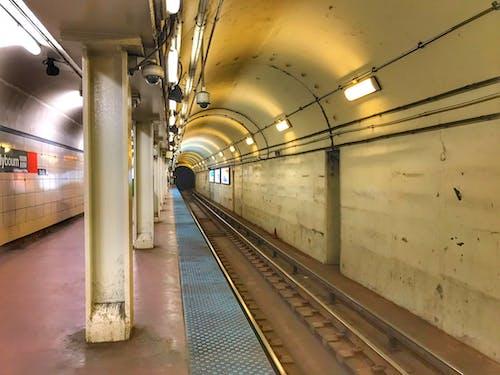Free stock photo of chicago, subway platform